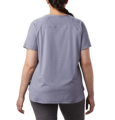 Women's Firwood Camp™ II Short Sleeve Shirt – Plus Size Firwood Camp™ II SS Tee | 101 | 1X, New Moon Small Stripe, back