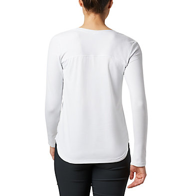 Women's Firwood Camp™ Long Sleeve Shirt Firwood Camp™ LS Tee | 010 | L, White Small Stripe, back