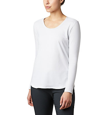 Women's Firwood Camp™ Long Sleeve Shirt Firwood Camp™ LS Tee | 010 | L, White Small Stripe, front
