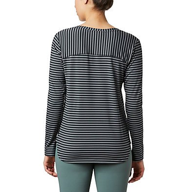 T-shirt à manches longues Firwood Camp™ pour femme Firwood Camp™ LS Tee | 556 | L, Black Medium Stripe, back