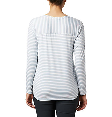 Women's Firwood Camp™ Long Sleeve Shirt Firwood Camp™ LS Tee | 556 | L, White Medium Stripe, back