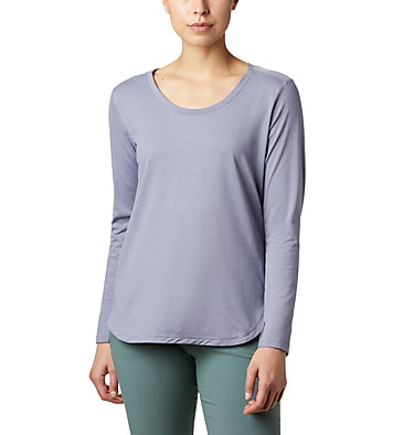 Women's Firwood Camp™ Long Sleeve Shirt Firwood Camp™ LS Tee | 556 | L, New Moon Small Stripe, front
