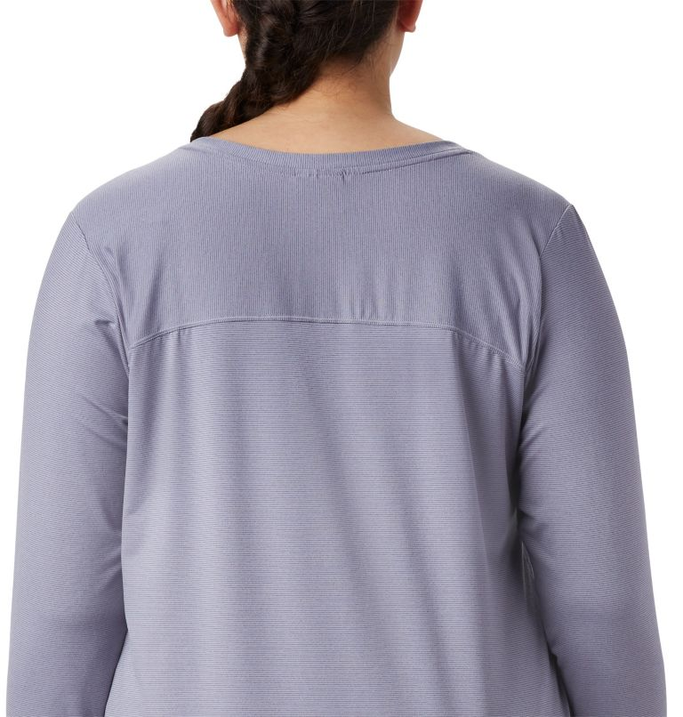 Firwood Camp™ LS Tee | 556 | 1X T-shirt à manches longues Firwood Camp™ pour femme – Grandes tailles, New Moon Small Stripe, a2