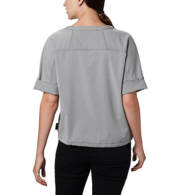 Haut à manches courtes Firwood Crossing™ pour femme Firwood Crossing™ SS Shirt | 010 | L, Black Chambray, back