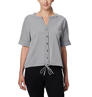 Haut à manches courtes Firwood Crossing™ pour femme Firwood Crossing™ SS Shirt | 010 | L, Black Chambray, front