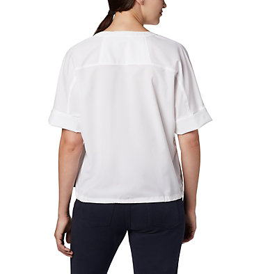 Haut à manches courtes Firwood Crossing™ pour femme Firwood Crossing™ SS Shirt | 010 | L, White, back