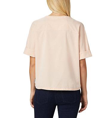 Women's Firwood Crossing™ Short Sleeve Shirt Firwood Crossing™ SS Shirt   100   L, Peach Cloud Chambray, back