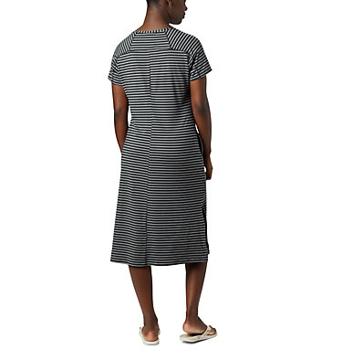 Robe t-shirt Firwood Camp™ pour femme Firwood Camp™ Tee Dress | 010 | L, Black Medium Stripe, back