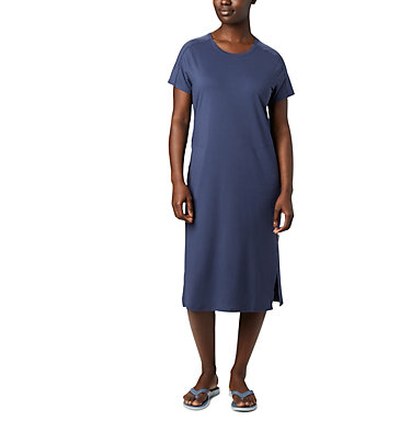 Women's Firwood Camp™ Tee Dress Firwood Camp™ Tee Dress | 010 | L, Nocturnal Small Stripe, front