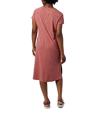 Women's Firwood Camp™ Tee Dress Firwood Camp™ Tee Dress | 010 | L, Dusty Crimson Medium Stripe, back