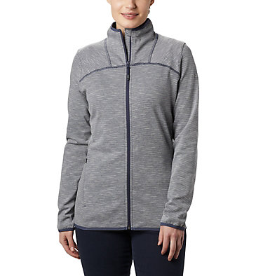 Women's Firwood Camp™ Fleece Jacket Firwood Camp™ Striped Fleece FZ | 466 | L, Nocturnal, front