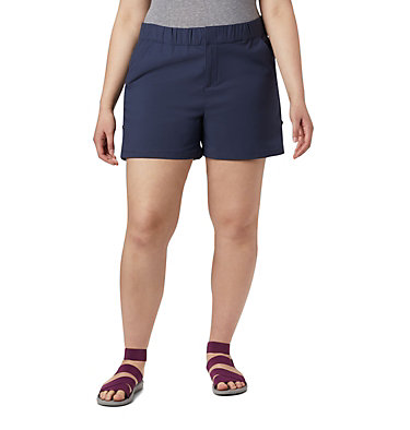 Women's Firwood Camp™ II Shorts - Plus Size Firwood Camp™ II Short | 466 | 1X, Nocturnal, front