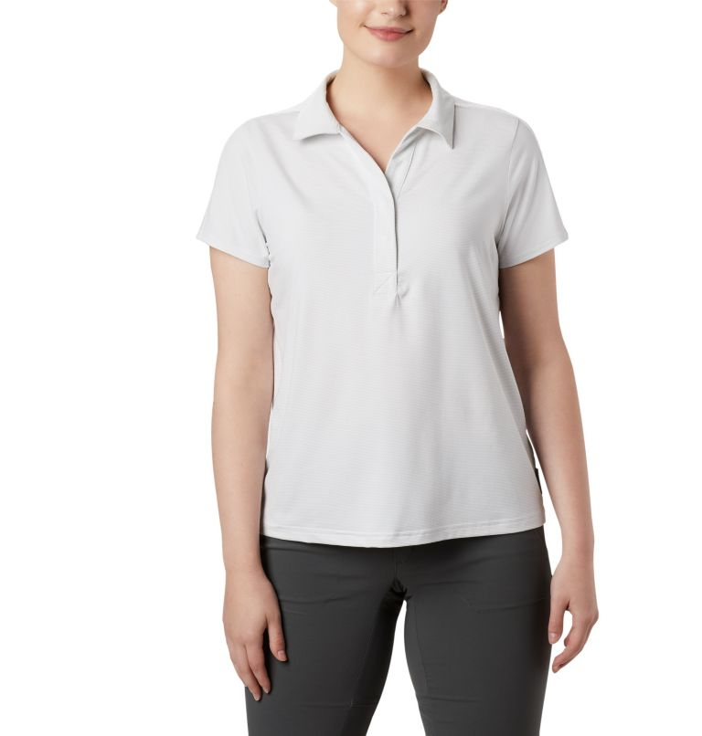 Firwood Camp™ II Polo | 100 | XS Women's Firwood Camp™ II Polo, White Small Stripe, front