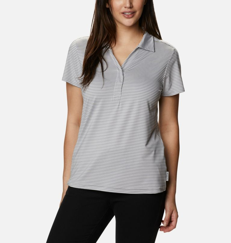 Firwood Camp™ II Polo | 102 | S Women's Firwood Camp™ II Polo, White, Monument Stripe, front