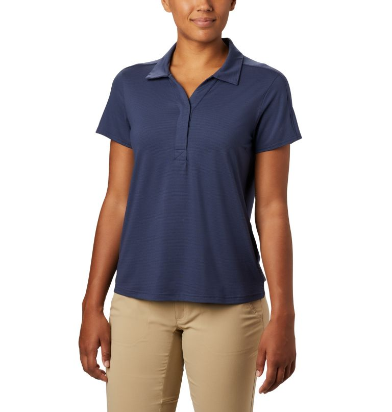 Firwood Camp™ II Polo | 466 | XS Women's Firwood Camp™ II Polo, Nocturnal Small Stripe, front