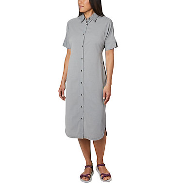 Women's Firwood Crossing™ Shirt Dress Firwood Crossing™ Shirt Dress | 010 | L, Black Chambray, front