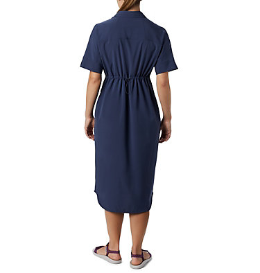 Women's Firwood Crossing™ Shirt Dress Firwood Crossing™ Shirt Dress | 010 | L, Nocturnal, back
