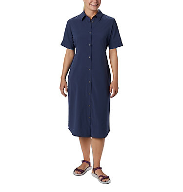 Women's Firwood Crossing™ Shirt Dress Firwood Crossing™ Shirt Dress | 010 | L, Nocturnal, front