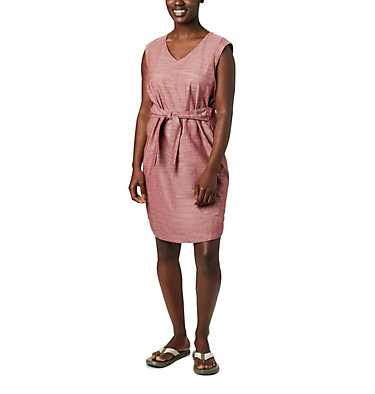 Women's Summer Chill™ Dress Summer Chill™ Dress | 466 | L, Dusty Crimson, front