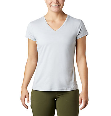 Women's Bryce™ Short Sleeve Shirt Bryce™ SS Tee | 010 | L, White Heather, front