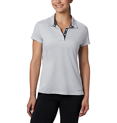 Polo Bryce™ pour femme Bryce™ Polo | 010 | L, White Heather, front