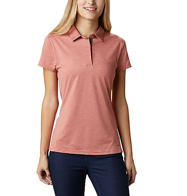 Women's Bryce™ Polo Bryce™ Polo | 010 | L, Dark Coral Heather, front