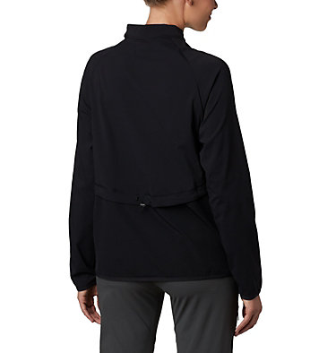Women's Bryce Peak™ Jacket Bryce Peak™ Perforated Full Zip | 010 | L, Black, back