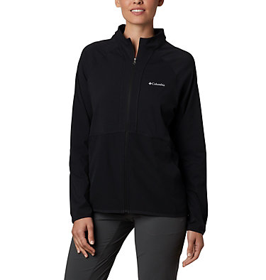 Women's Bryce Peak™ Jacket Bryce Peak™ Perforated Full Zip | 010 | L, Black, front