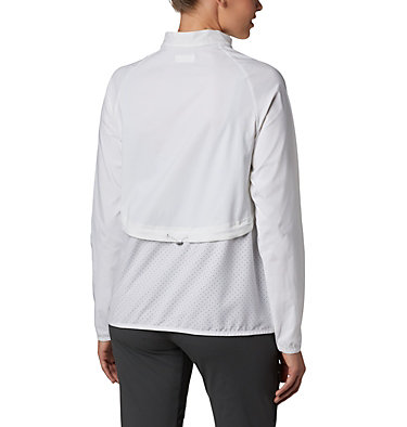 Women's Bryce Peak™ Perforated Full Zip Bryce Peak™ Perforated Full Zip | 010 | L, White, back