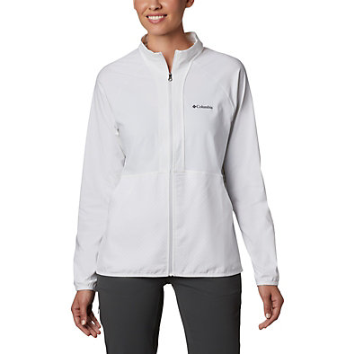 Women's Bryce Peak™ Perforated Full Zip Bryce Peak™ Perforated Full Zip | 010 | L, White, front
