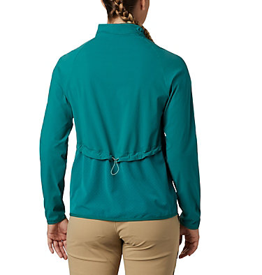 Women's Bryce Peak™ Jacket Bryce Peak™ Perforated Full Zip | 010 | L, Waterfall, back