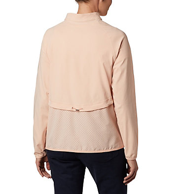 Women's Bryce Peak™ Perforated Full Zip Bryce Peak™ Perforated Full Zip | 010 | L, Peach Cloud, back