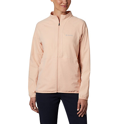 Women's Bryce Peak™ Perforated Full Zip Bryce Peak™ Perforated Full Zip | 010 | L, Peach Cloud, front
