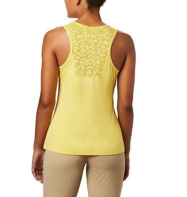 Women's Peak To Point™ II Tank Peak To Point™ II Tank | 634 | L, Buttercup Heather, back