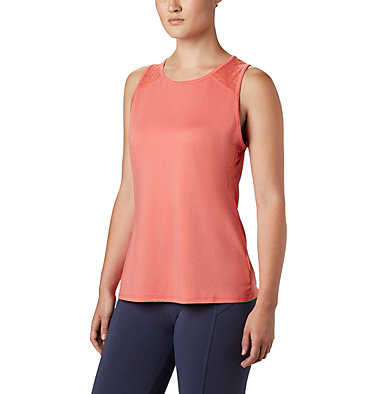 Women's Peak To Point™ II Tank Peak To Point™ II Tank | 634 | L, Bright Poppy Heather, front