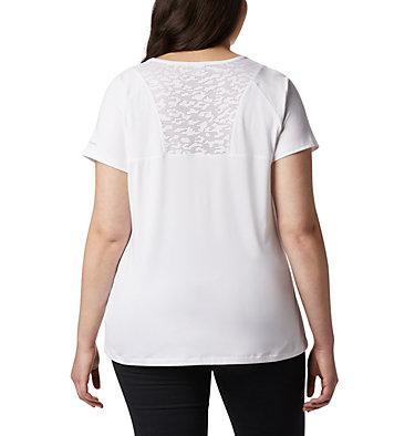 Women's Peak To Point™ II T-Shirt – Plus Size Peak To Point™ II SS Tee | 010 | 1X, White, back
