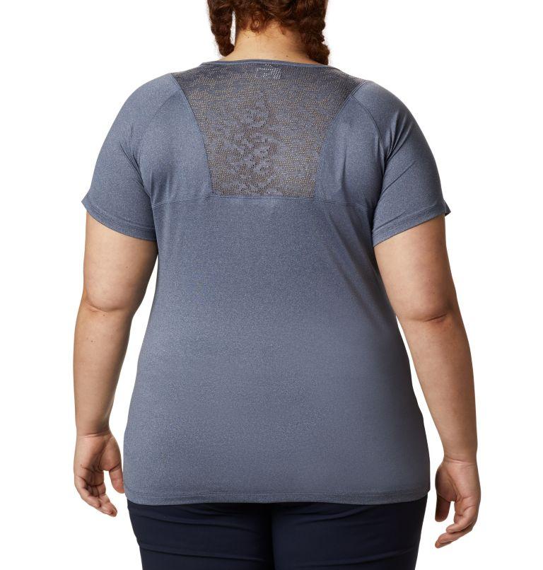 Peak To Point™ II SS Tee   466   2X Women's Peak To Point™ II T-Shirt – Plus Size, Nocturnal Heather, back