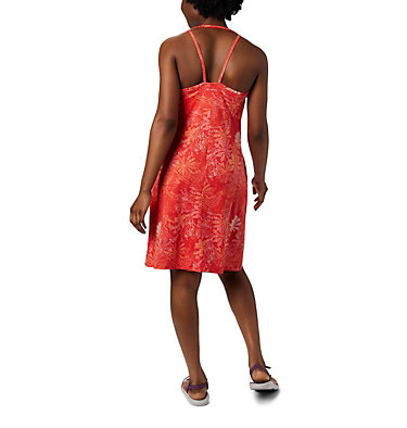 Women's Peak To Point™ Knit Dress Peak To Point™ Knit Dress | 847 | L, Bright Poppy Got Florals, back