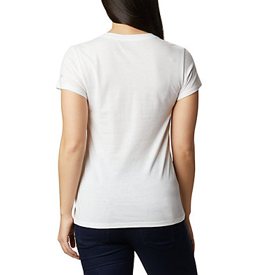 Women's Solar Shield™ Graphic Tee Solar Shield™ Graphic Tee | 466 | L, White, Tested Tough, back