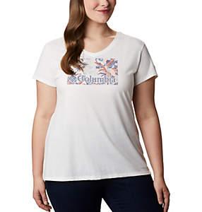T-shirt imprimé Solar Shield™ pour femme – Grandes tailles