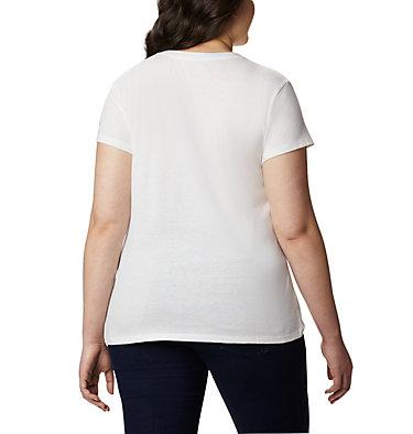 Women's Solar Shield™ Graphic Tee – Plus Size Solar Shield™ Graphic Tee | 729 | 1X, White, Tested Tough, back