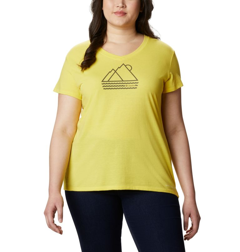 Women's Solar Shield™ Graphic Tee – Plus Size Women's Solar Shield™ Graphic Tee – Plus Size, front