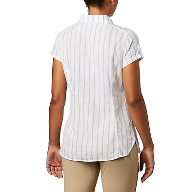 Women's Camp Henry™ II Short Sleeve Shirt Camp Henry™ II SS Shirt | 384 | S, White Stripe, back