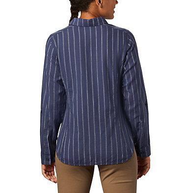 Women's Camp Henry™ II Long Sleeve Shirt Camp Henry™ II LS Shirt   466   L, Nocturnal Stripe, back