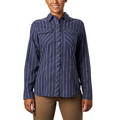Women's Camp Henry™ II Long Sleeve Shirt Camp Henry™ II LS Shirt   466   L, Nocturnal Stripe, front