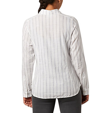 Women's Camp Henry™ II Shirt Camp Henry™ II LS Shirt | 384 | L, White Stripe, back