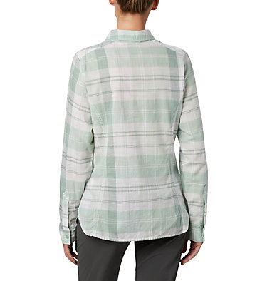 Women's Camp Henry™ II Shirt Camp Henry™ II LS Shirt | 384 | L, New Mint Large Plaid, back