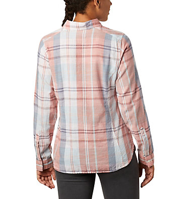 Women's Camp Henry™ II Shirt Camp Henry™ II LS Shirt | 384 | L, New Moon Large Plaid, back