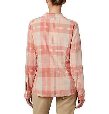 Women's Camp Henry™ II Shirt Camp Henry™ II LS Shirt | 384 | L, Cedar Blush Large Plaid, back