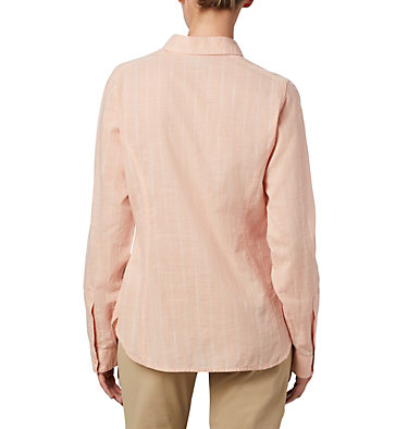 Women's Camp Henry™ II Shirt Camp Henry™ II LS Shirt | 384 | L, Peach Cloud Stripe, back